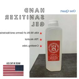 1 Quart Hand Sanitizer Gel - Refill - Made in USA - In Stock