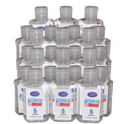 Hand Sanitizer Gel 70% Alcohol with ALOE unscented, 3,6,12&2