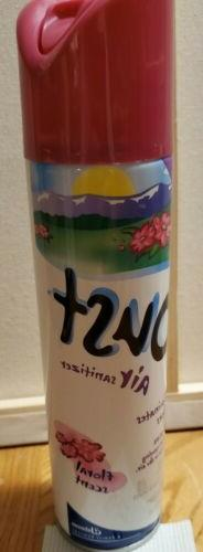 Oust Air Sanitizer Spray Floral Scent - Vintage Full New