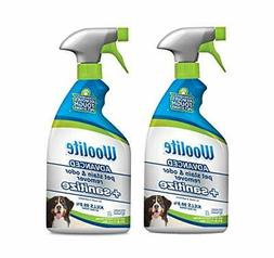 Woolite Advanced Pet Stain & Odor Remover + Sanitize, 2618,
