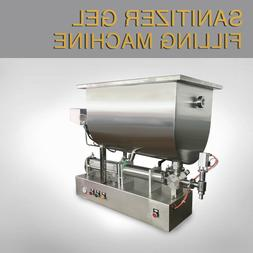 Semi Automatic Sanitizer Gel Filling Machine for 75% Alcohol
